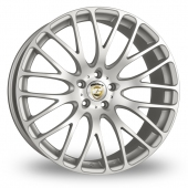 Calibre Altus Silver Polished Alloy Wheels