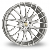 Calibre Altus Wider Rear Silver Polished Alloy Wheels