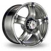 BK Racing 323 Hyper Black Alloy Wheels