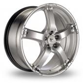 BK Racing 333 Hyper Black Alloy Wheels