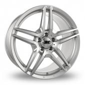 DRC DMB Silver Alloy Wheels