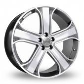Riva RVR Hyper Silver Alloy Wheels