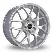 Dare DR-X2 Silver Alloy Wheels