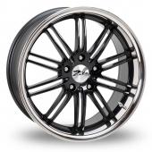 Zito Belair Wider Rear Black Alloy Wheels