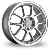 Konig Foil Silver Polished Alloy Wheels