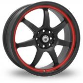 Konig Forward Red Stripe Alloy Wheels