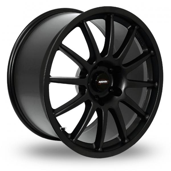 "Picture of 18"" Team Dynamics Pro Race 1.3 Black 5x130 Wider Rear"