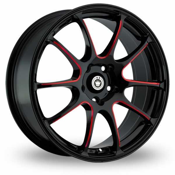 "Picture of 18"" Konig Illusion Black/Red"