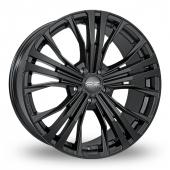 OZ Racing Cortina Black Alloy Wheels
