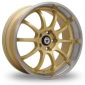 Konig Lightning Gold Alloy Wheels