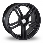 Team Dynamics Le Mans Black Alloy Wheels