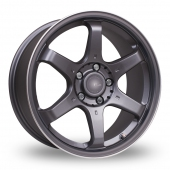 Fox Racing MS006 Grey Alloy Wheels