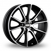BBS SV Black Polished Alloy Wheels