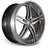 COR Wheels Brava Signature Series Hyper Silver Alloy Wheels
