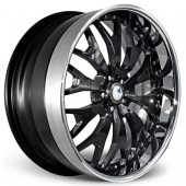 COR Wheels Marrakech Signature Series Black Alloy Wheels
