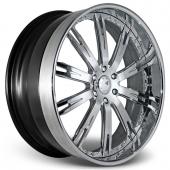 COR Wheels Lladro Signature Series Hyper Silver Alloy Wheels