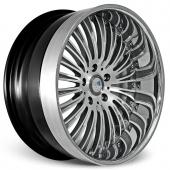 COR Wheels Testerossa Signature Series Hyper Silver Alloy Wheels