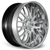 COR Wheels Colonial Signature Series Hyper Silver Alloy Wheels