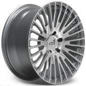COR Wheels F1 Linear Competiton Series Gun Metal Polished Alloy Wheels
