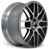 COR Wheels F1 Mesh Competiton Series Black Polished Alloy Wheels