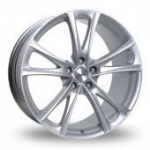 Xtreme X95 Silver Alloy Wheels