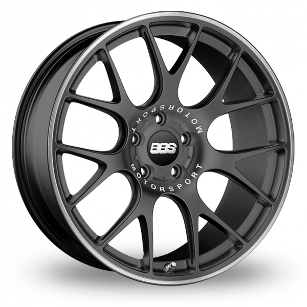 "Picture of 19"" BBS CH-R Satin Anthracite Wider Rear"