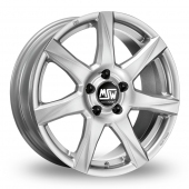 MSW (by OZ) 77 Silver Alloy Wheels