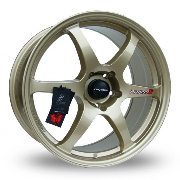 """Picture of 18"""" Lenso Spec C Gold"""
