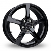 Fox Racing FX6 Black Alloy Wheels