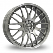 Maxxim Maze Silver Polished Alloy Wheels