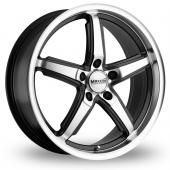 Maxxim Allegro Graphite Polished Alloy Wheels