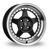 Cades Blast Black Polished Alloy Wheels