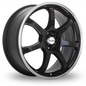 Maxxim Knight Black Alloy Wheels