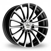 Tekno RX11 Black Polished Alloy Wheels