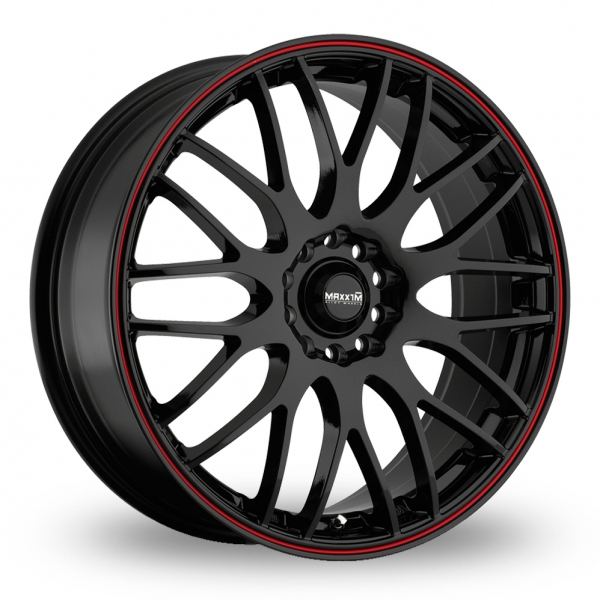 "Picture of 15"" Maxxim Maze Black/Red"