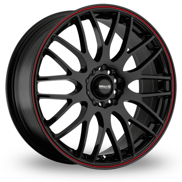 "Picture of 17"" Maxxim Maze Black/Red"