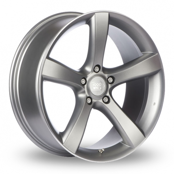 "Picture of 19"" Mille Miglia MM1001 Matt Anthracite Wider Rear"