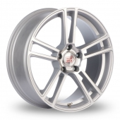 Mille Miglia MM1002 Silver Polished Alloy Wheels