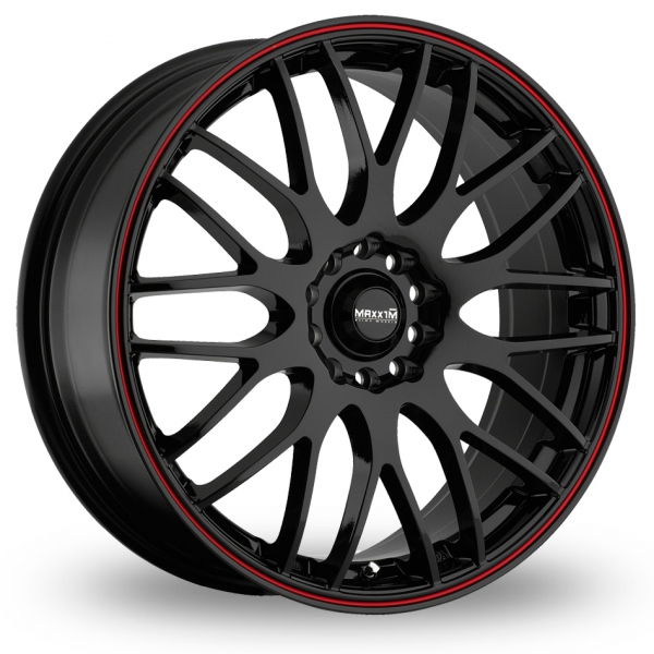 "Picture of 18"" Maxxim Maze Black/Red"