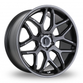 SLCC SLCC 5 Gun Metal Alloy Wheels
