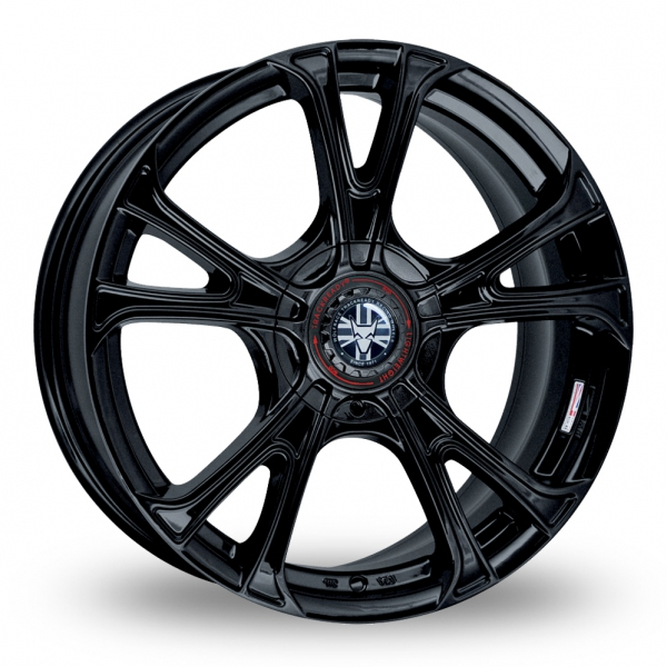 "Picture of 18"" Wolfrace Ultra-Lite eco 2.0 Black Wider Rear"