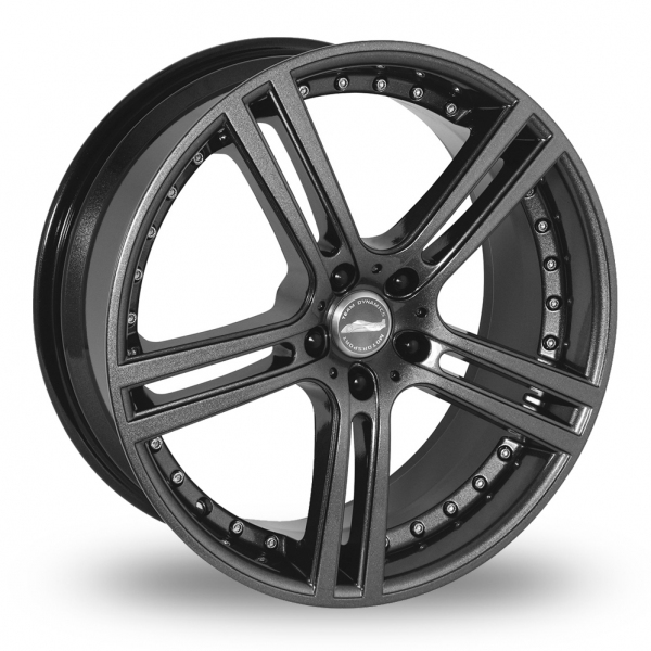 "Picture of 19"" Team Dynamics Le Mans Gloss Anthracite Wider Rear"