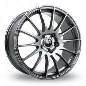 Fox Racing FX004 Grey Alloy Wheels