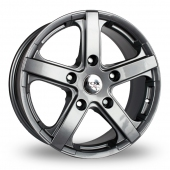 Fox Racing Commercial Grey Alloy Wheels