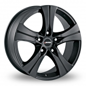 Autec Ethos Matt Black Alloy Wheels