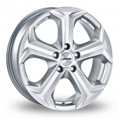 Autec Xenos Silver Alloy Wheels