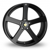 Cades Apollo Matt Black Alloy Wheels