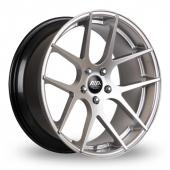 AVA Memphis Hyper Silver Alloy Wheels