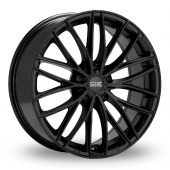 OZ Racing Italia 150 5 Stud Matt Black Alloy Wheels