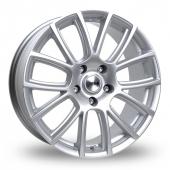 Tekno RX7 Silver Alloy Wheels